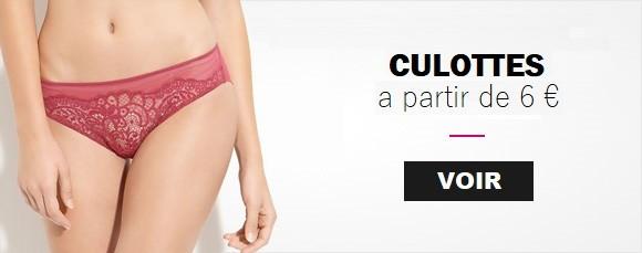 Culottes sensuelles